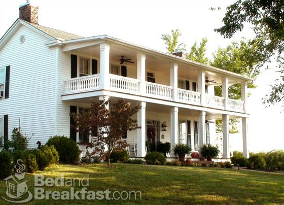 Maple Hill Bed And Breakfast Eddyville Kentucky Bed And Breakfast Eddyville Southern Homes
