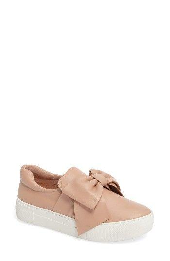 bc511f2222b JSlides Beauty Bow Platform Slip-On Sneaker (Women)