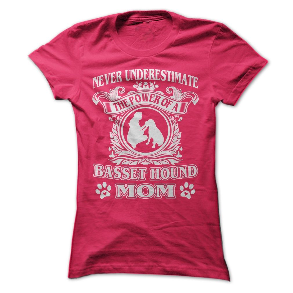 Proud Basset Hound Mom T-Shirts, Hoodies. Get It Now ==► https://www.sunfrog.com/Pets/Proud-Basset-Hound-Mom-Ladies.html?id=41382