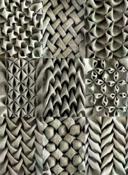 43 ideas for fashion design ideas fabric manipulation textile art #fabricmanipulation