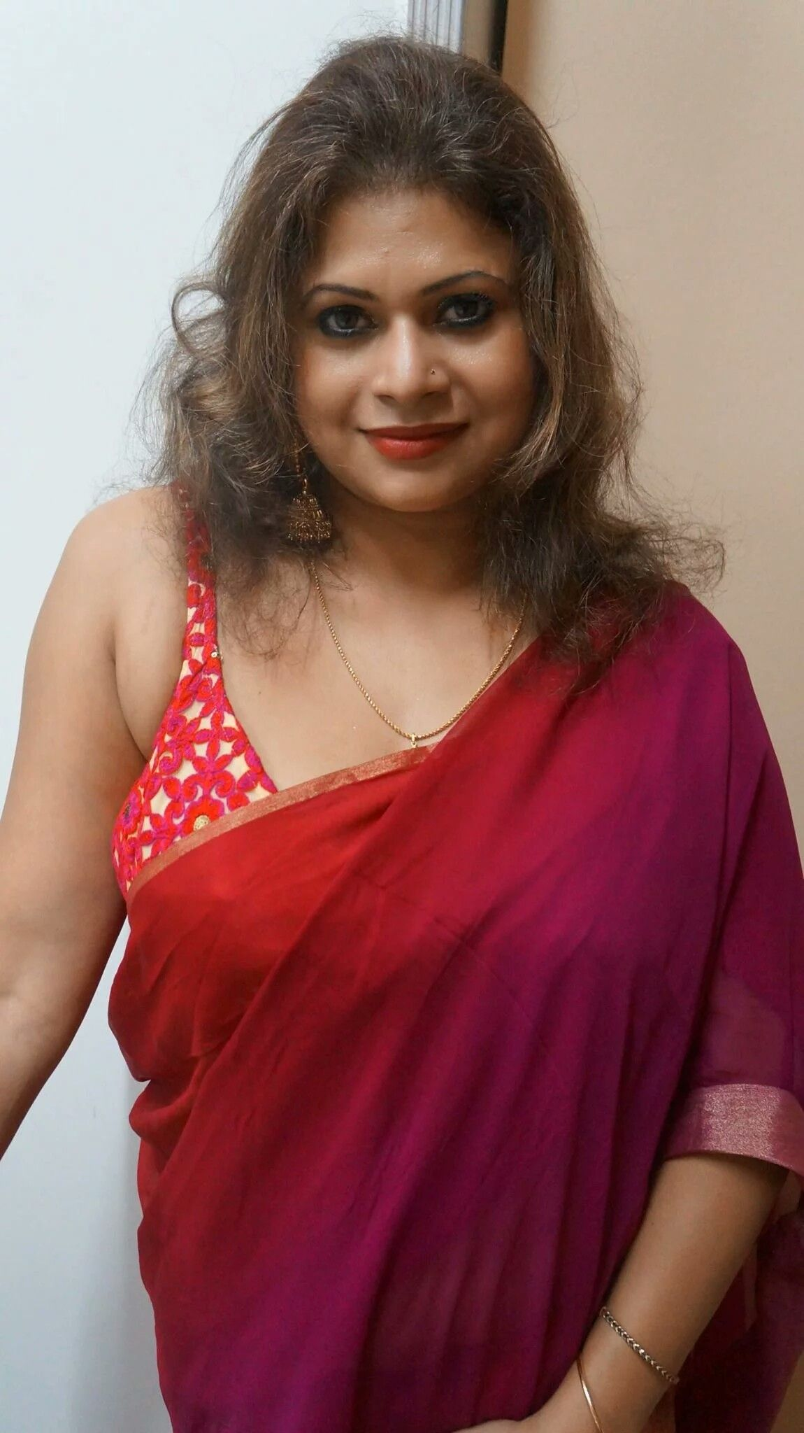 Kerala Indian housewife aunty