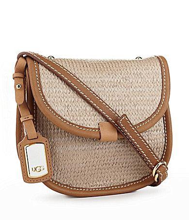 a29707b5c UGG Australia Straw Mini Cross-Body Bag | Dillards.com | My Style ...