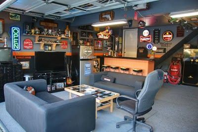 pingl par benjamin sur pi ce de ben pinterest garage amenagement garage et id e garage. Black Bedroom Furniture Sets. Home Design Ideas