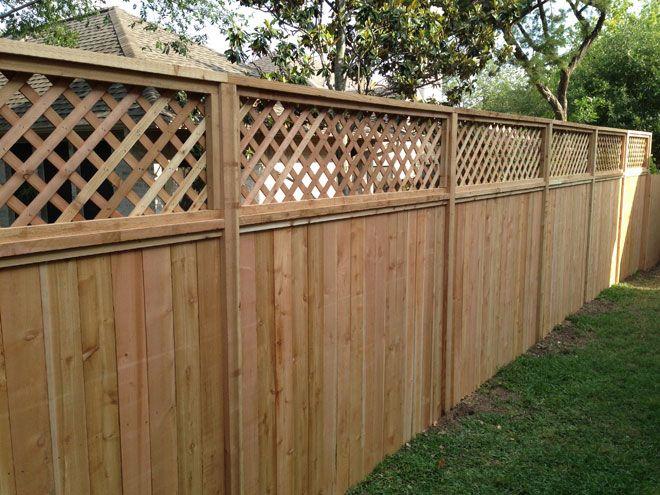 Custom Wood Fencing Austin Round Rock Dripping Springs Bee Cave Backyard Fences Modern Front Yard Yard Remodel