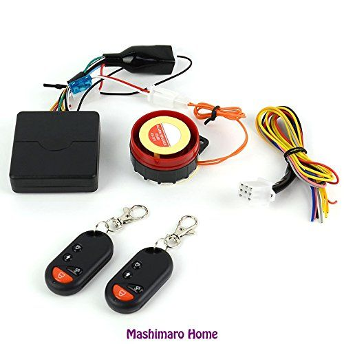 New Motorcycle Bike Antitheft Security Alarm System Remote Control