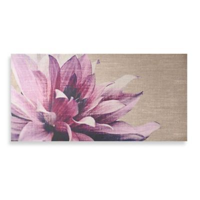 Pink Wall Art graham & brown pink petals canvas wall art - bedbathandbeyond