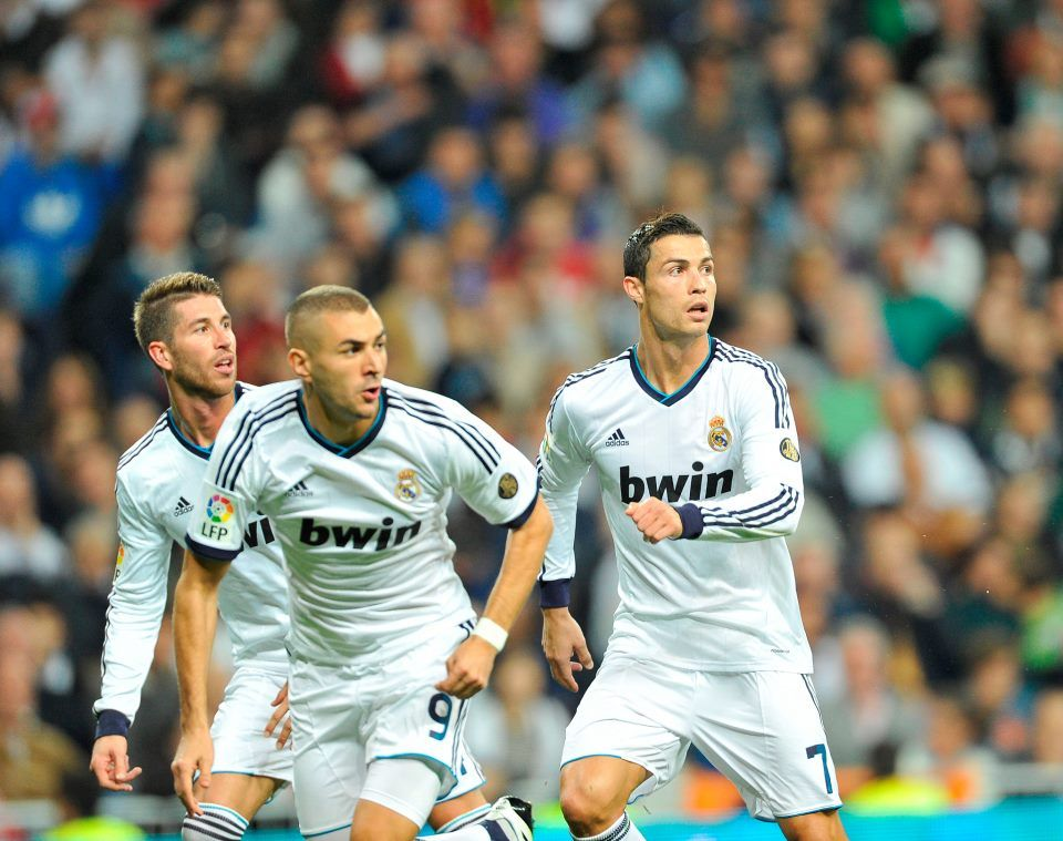 My Awesome Real Madrid boys!