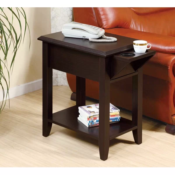 Tollett Chairside End Table With Storage In 2020 With Images End Tables With Storage Chair Side Table Living Room Accent Tables