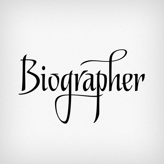 Biographer by Ale Paul. This typeface was made for editorial settings, from headlines to children's books.