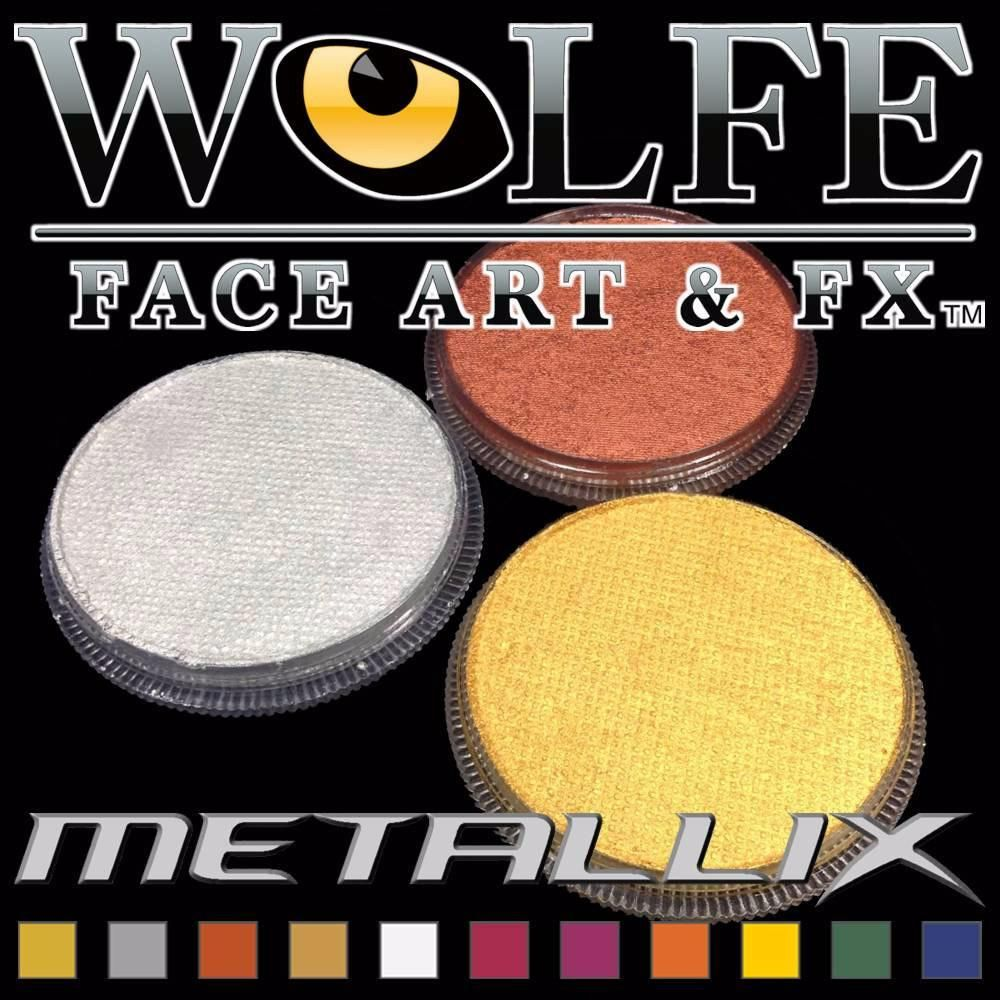 Hydrocolor water activated makeup 30g Metallix Makeup