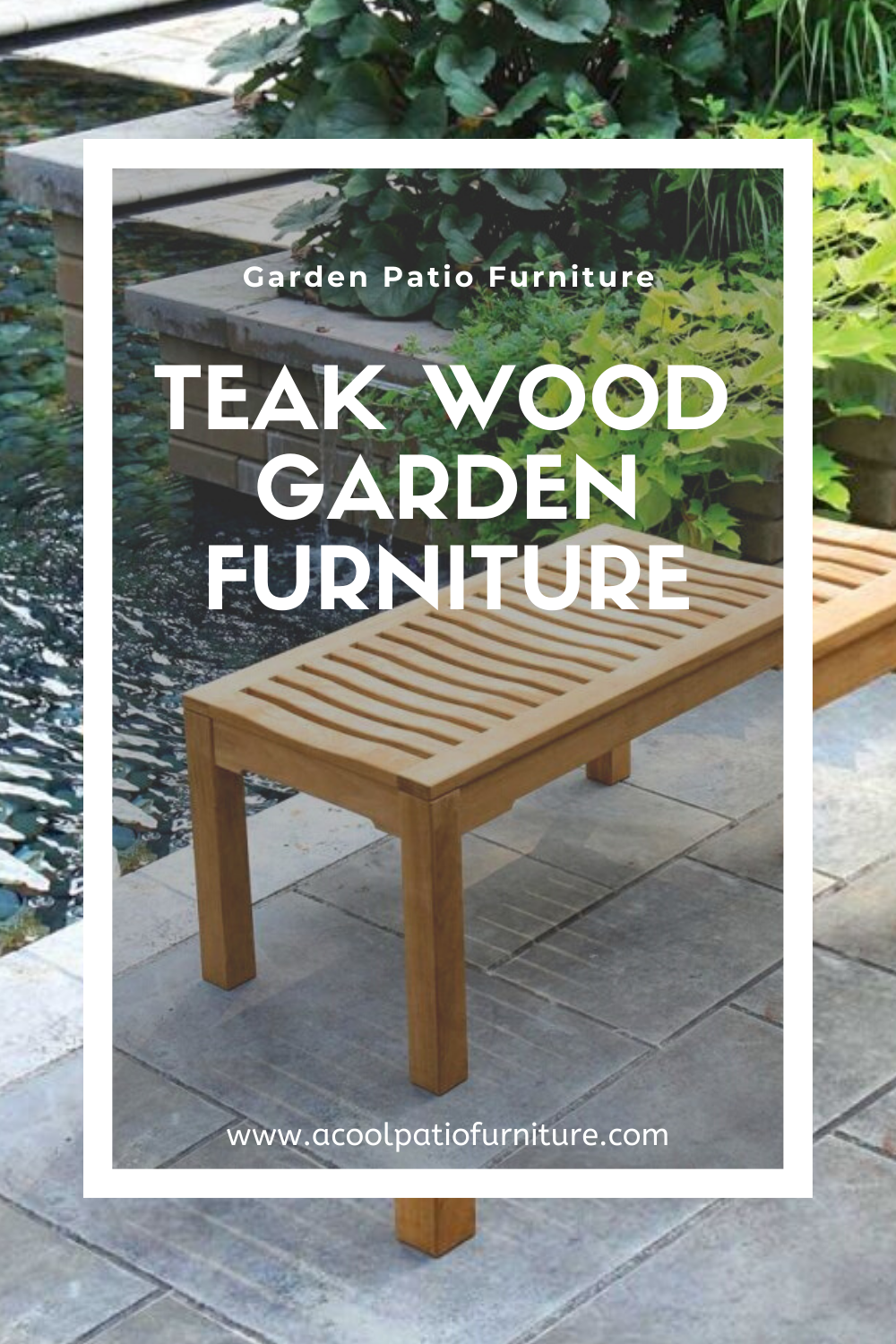 Why Teak Wood Is So Popular As Garden Furniture With Proof Like That It S Not At All Hard To See Why Teak Is Commonly Used In The Construction In 2020 With Images