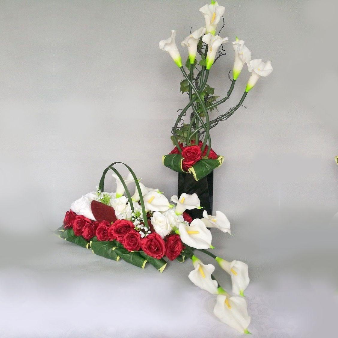 Zestaw Bialo Czerwony Nr 115 Swiateczne Atelier Floral Wreaths Decor