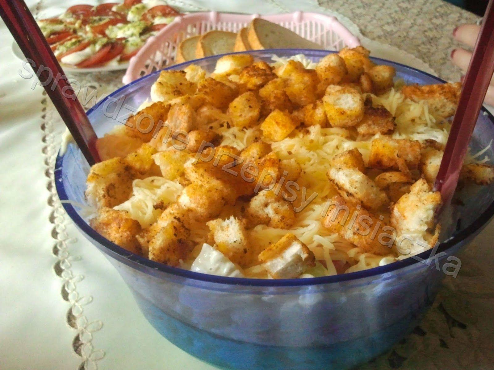 Sprawdzone Przepisy Misiaczka Salatka Ukrainska Culinary Recipes Cooking Recipes