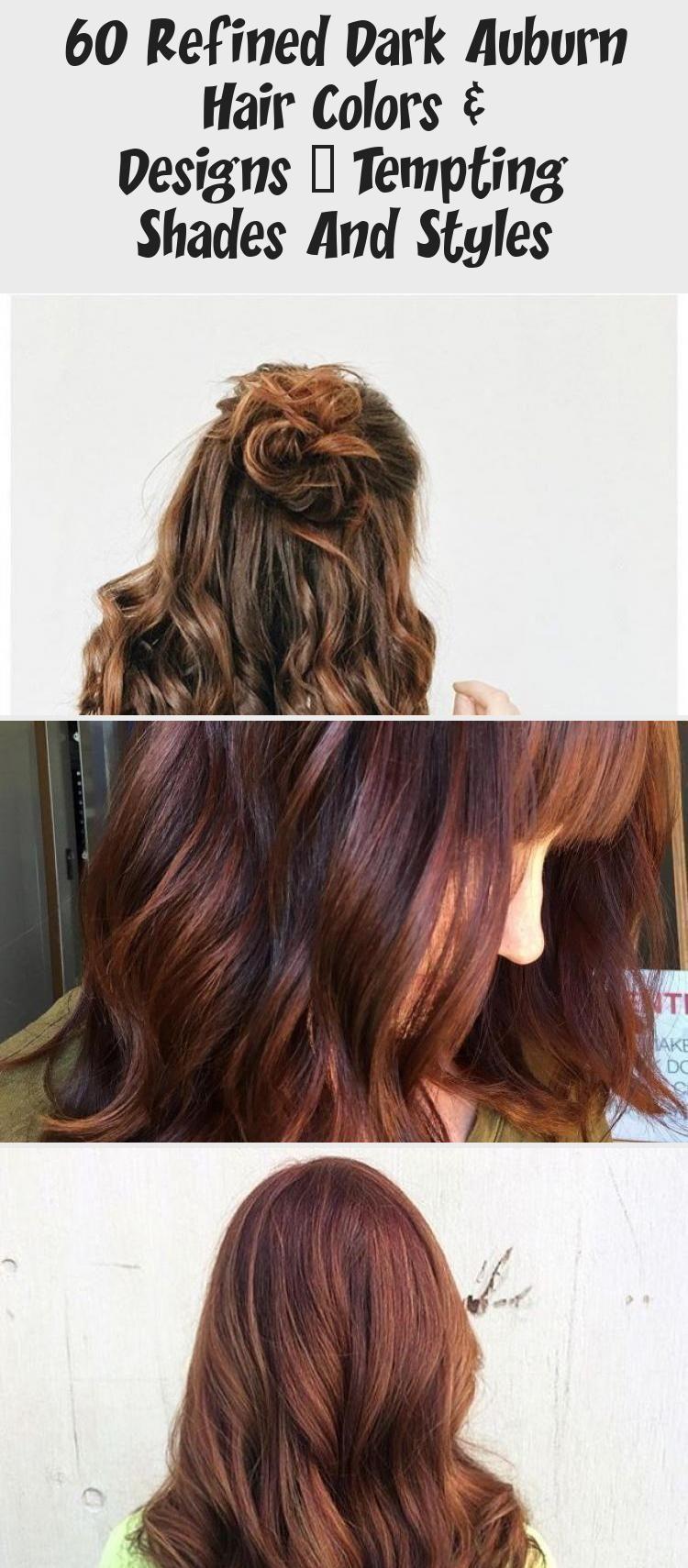 60 Refined Dark Auburn Hair Colors & Designs — Tempting Shades And Styles - Ha... -  60 Refined Dark Auburn Hair Colors & Designs — Tempting Shades And Styles – Ha… –     60 Re - #auburn #auburnhairstyles #colors #Dark #designs #diyhairstylesshorthair #hair #hairstylesformen #refined #shades #styles #tempting