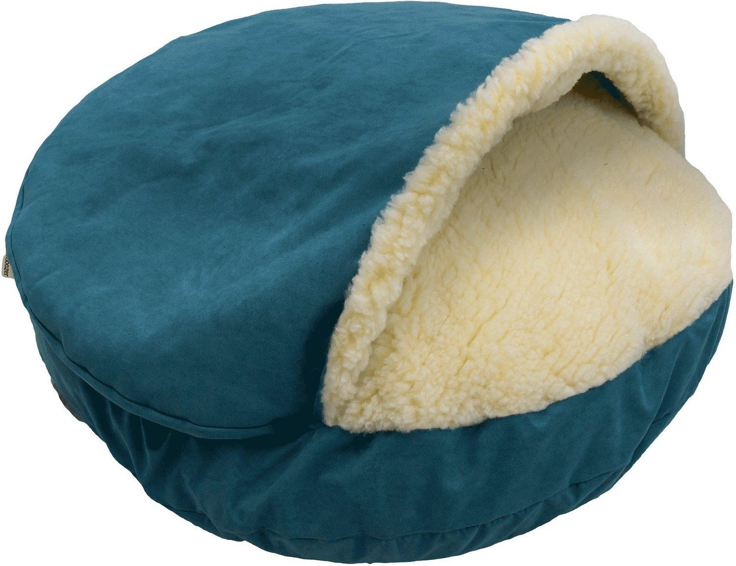 Microsuede Cozy Cave Dog this neststyle bed provides a