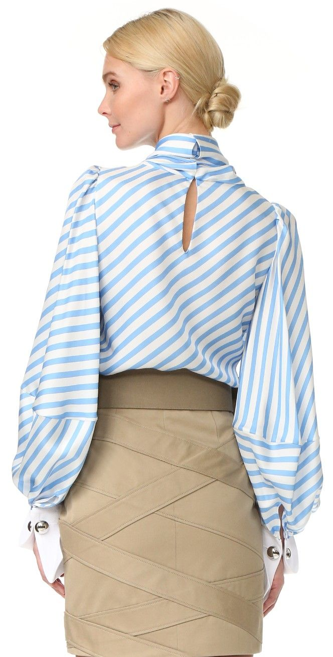 Monse Striped Blouse | SHOPBOP