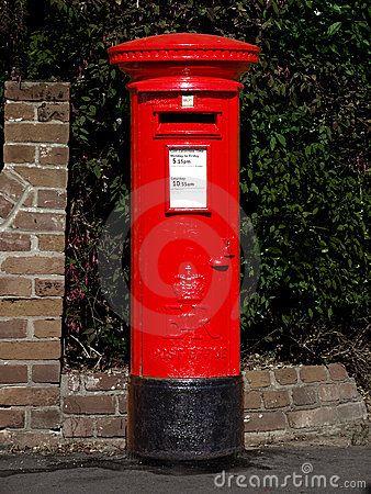 British Royal Mail Post Box | Best of British