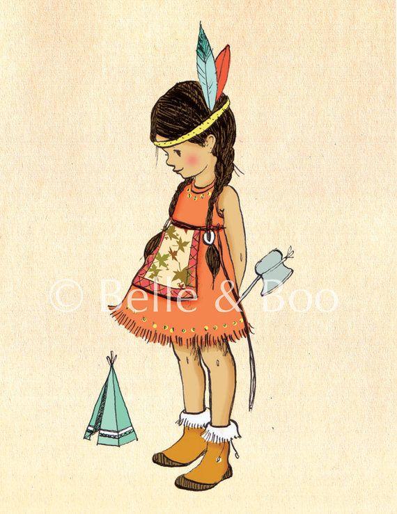 Indianer Mädchen <3