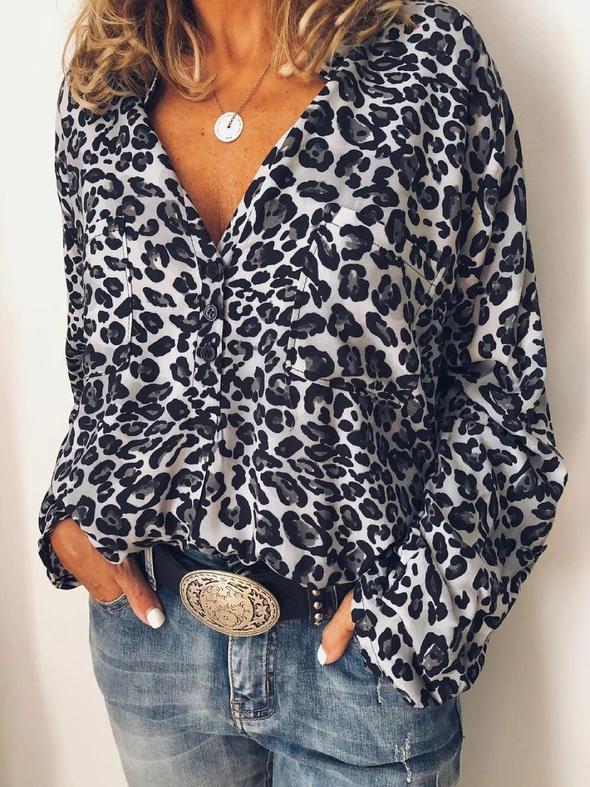 UK Women Chiffon Floral Boho Tops Blouse Lady Long Sleeve T Shirts Plus Sz 10-18