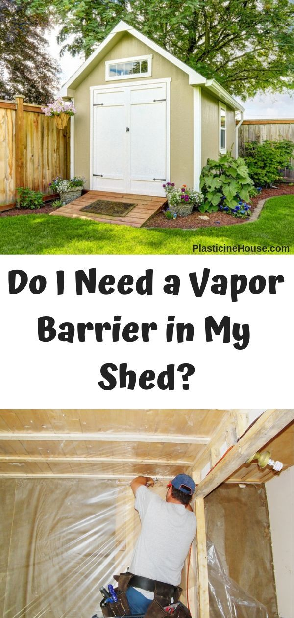 Do I Need a Vapor Barrier in My Shed? Shed landscaping