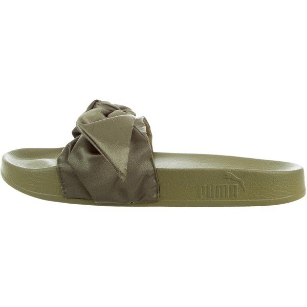 Pre-owned Fenty x Puma Satin Slide Sandals ( 75) ❤ liked on Polyvore 9ea5cfe80
