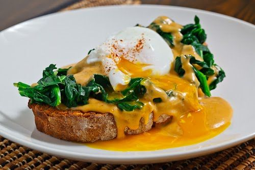 Buck Rarebit (Welsh Rarebit with Spinach and a Poached Egg) | Recipe ...