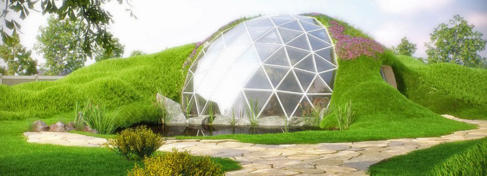 GEODESIC BIODOME HOUSE