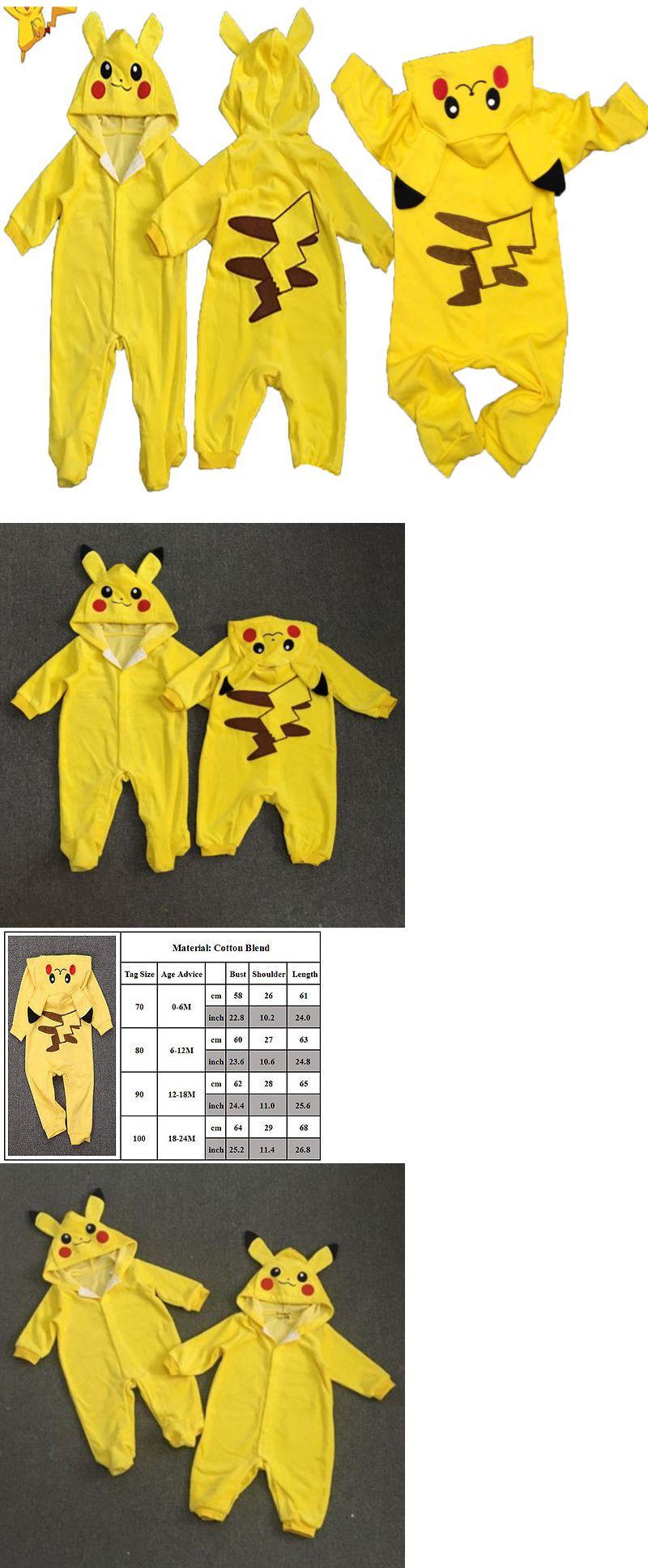 08c88a0b3 Boys Clothing Newborn-5T 147317: Pokemon Pikachu Newborn Boys Girls Romper  Baby Pajamas Hooded Costume Cosplay Us -> BUY IT NOW ONLY: $10.22 on #eBay  ...