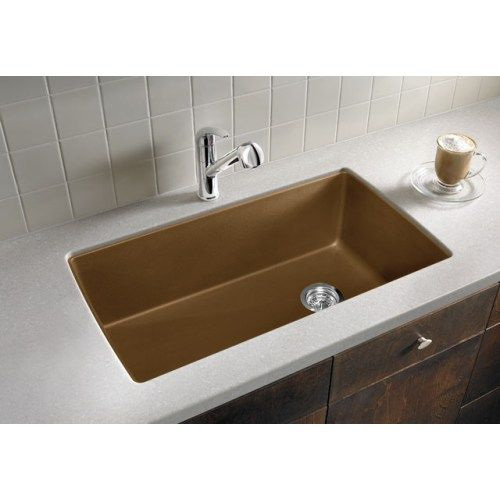 Blanco B441467 Diamond White/Color Single Bowl Kitchen Sink - Cinder ...
