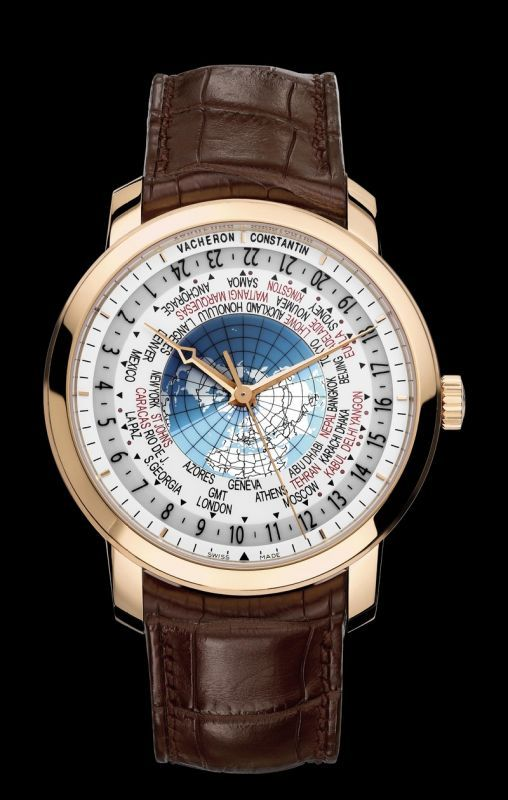 cf3b5344b65 Vacheron Patrimony Traditionnelle World Time Chronograph