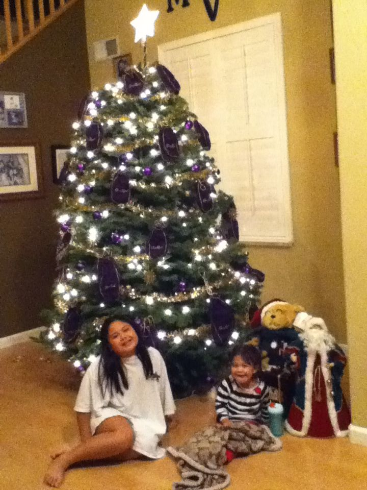 Crown Royal Christmas Tree (recycling da bags)   my ...