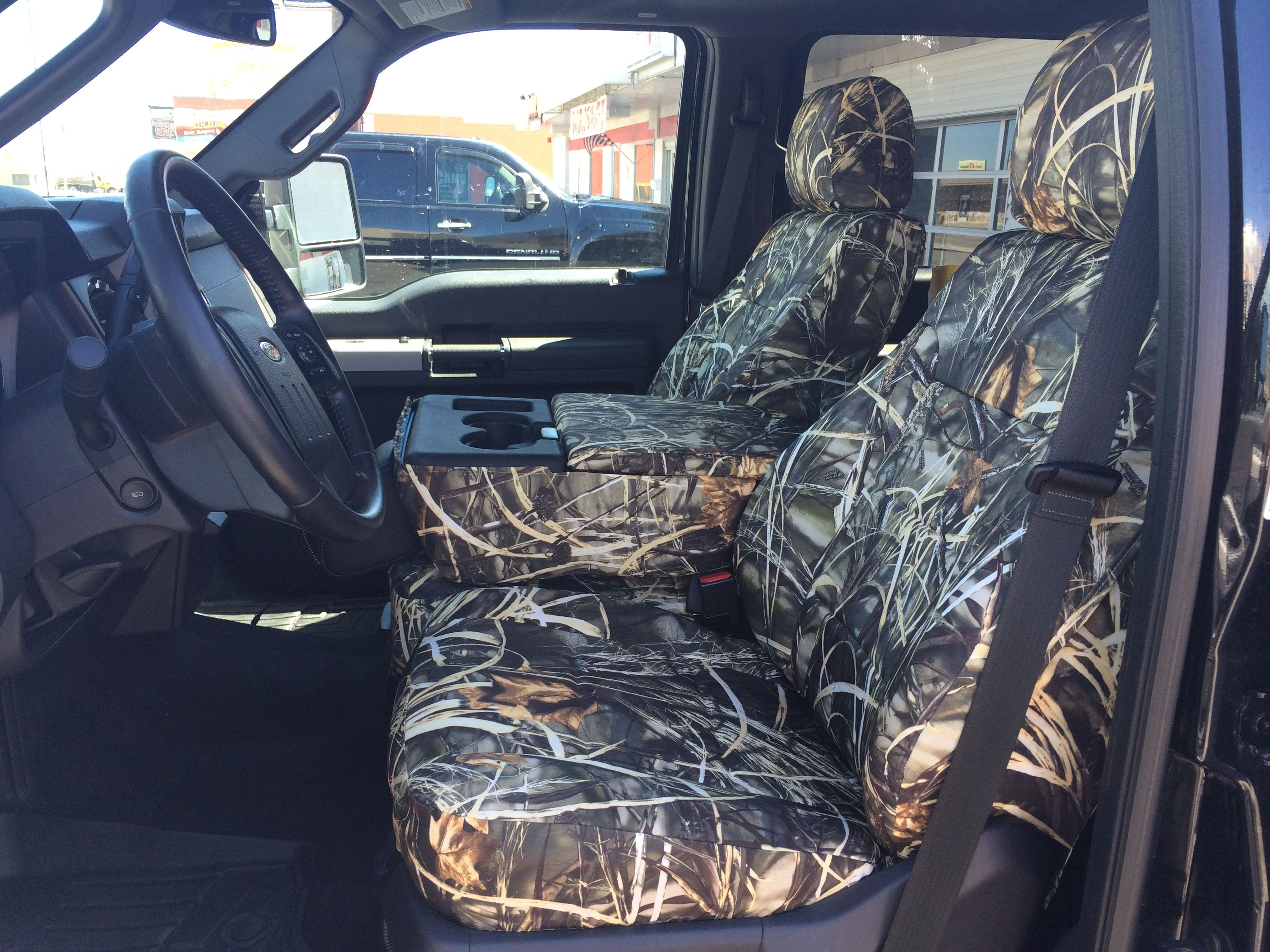 2014 ford f 250 realtree max 4 camo duck camo front row seat