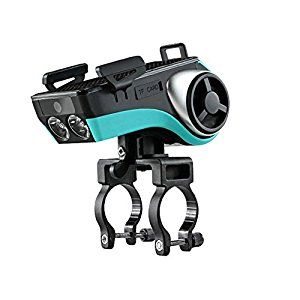 Amazon.com: West Biking Convenient 3.0/4.0 Bicycle Phone Mount Holder 4400MAH Power Bank Bike LED Light Bluetooth Cycling Bell Speaker Waterproof: Home Audio & Theater