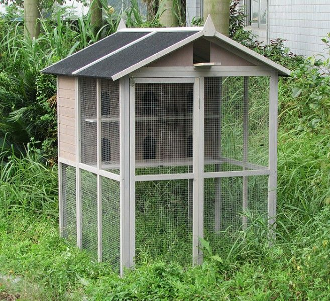 pigeonnier voliere en bois barnet pour pigeons colombes touterelles voliere pigeonnier. Black Bedroom Furniture Sets. Home Design Ideas
