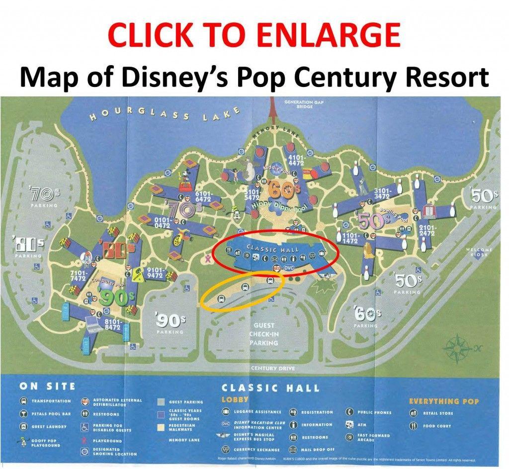 Theming and Accommodations at Disney\'s Pop Century Resort | Disney ...