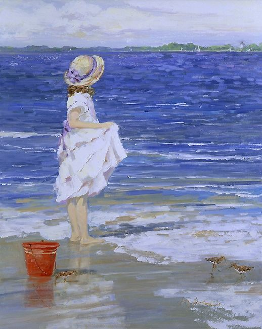 'Island Sandpipers' by Sally Swatland