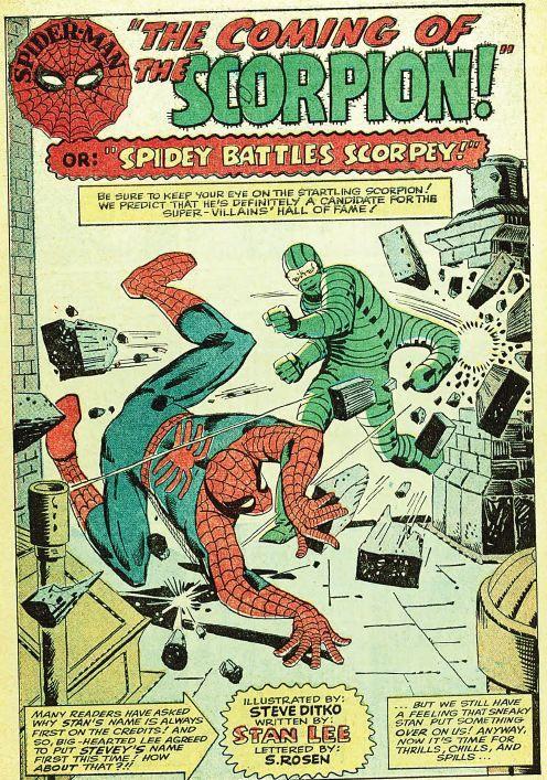Splash-page from Amazing Spider-Man #20.