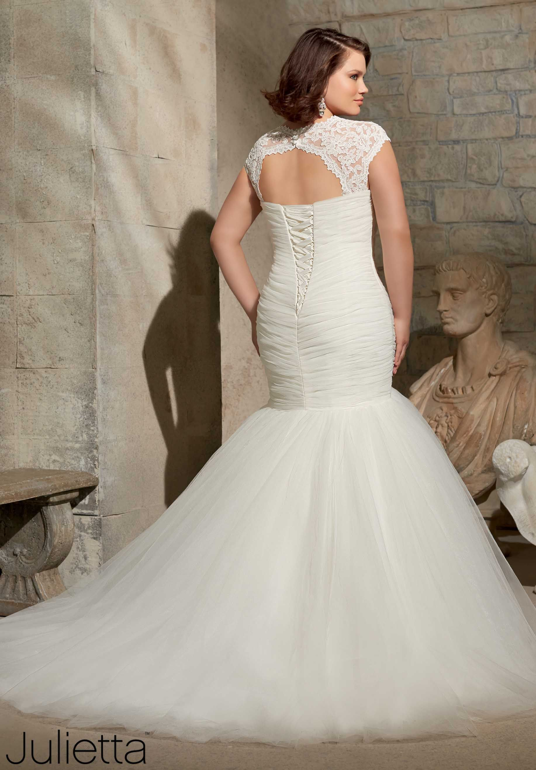 Wedding Gowns / Dresses Style 3176 Soft Net Removable