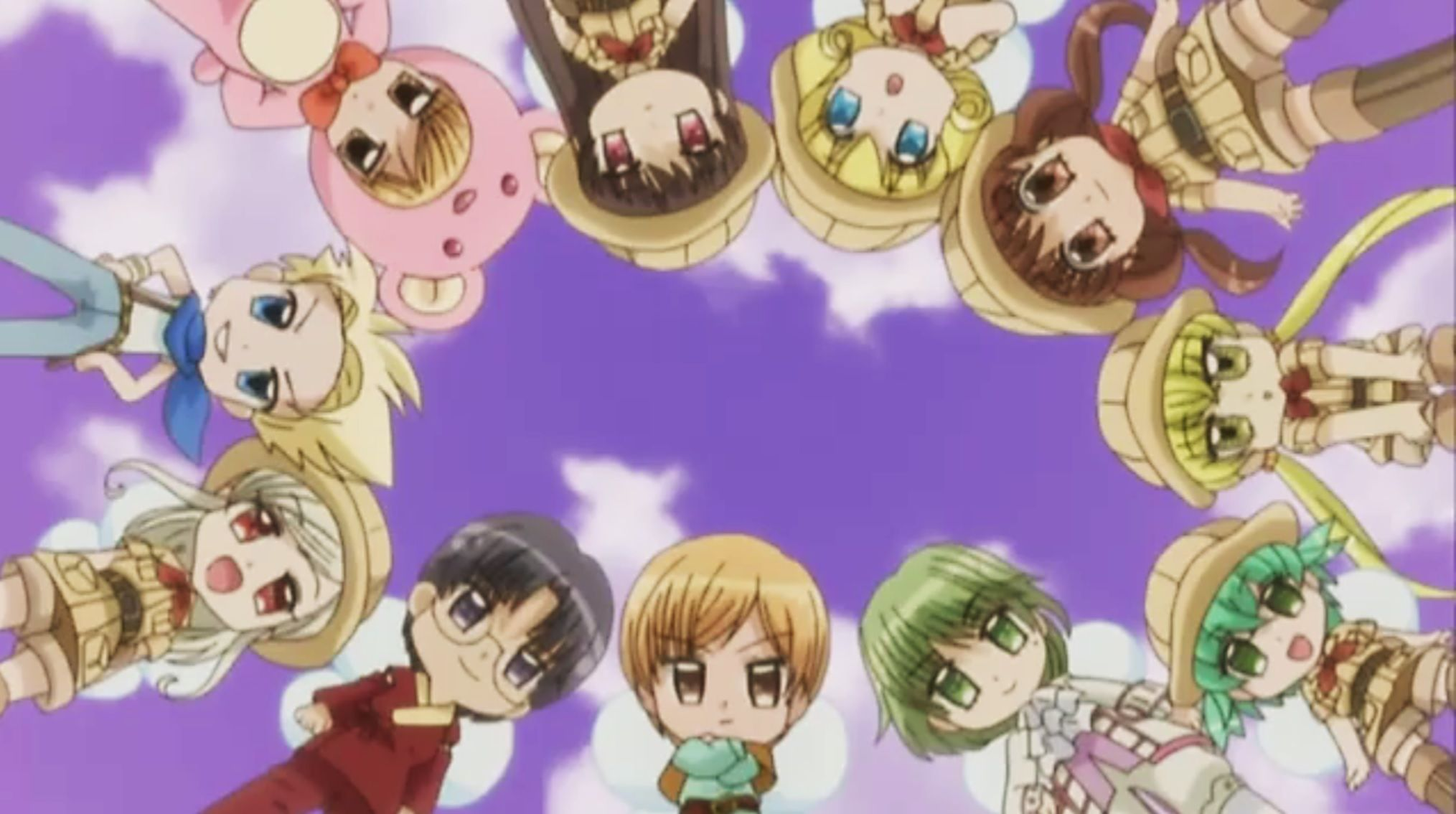 Yumeiro Patissiere Professional Chibi Wallpaper 14 Anime