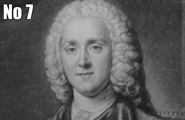 No 7  George Grenville Whig 1763 to 1765