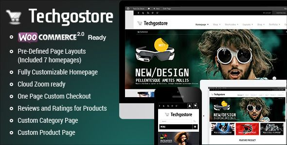 Download TechGoStore 1 2 2 - WooCommerce WordPress Theme % Nulled