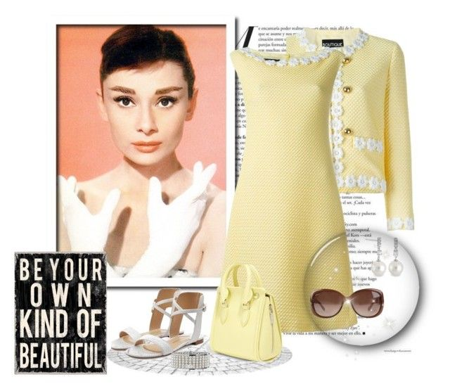 """""""Be Your Own Kind Of Beautiful"""" by leanne-mcclean ❤ liked on Polyvore featuring Boutique Moschino, Alexander McQueen, Paul Andrew, Gucci and Crislu"""
