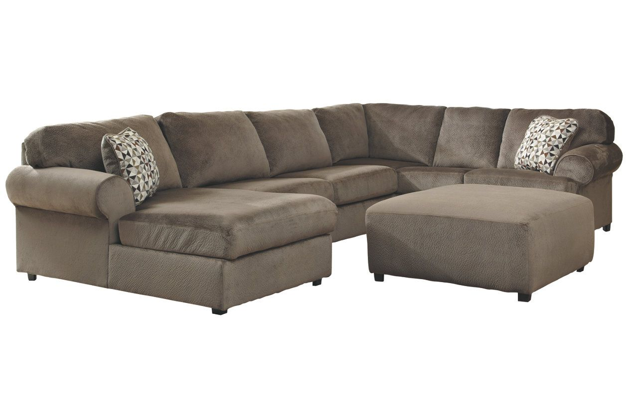 Cool Jessa Place 3 Piece Sectional With Ottoman Ashley Gmtry Best Dining Table And Chair Ideas Images Gmtryco