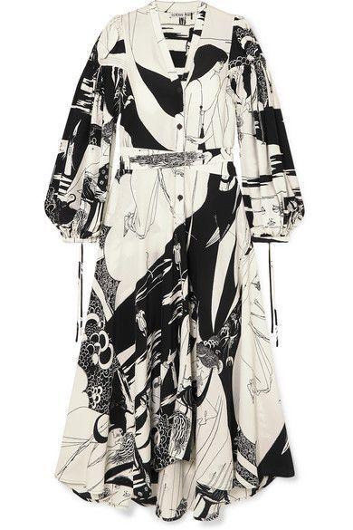 Loewe – Printed crepe maxi dress
