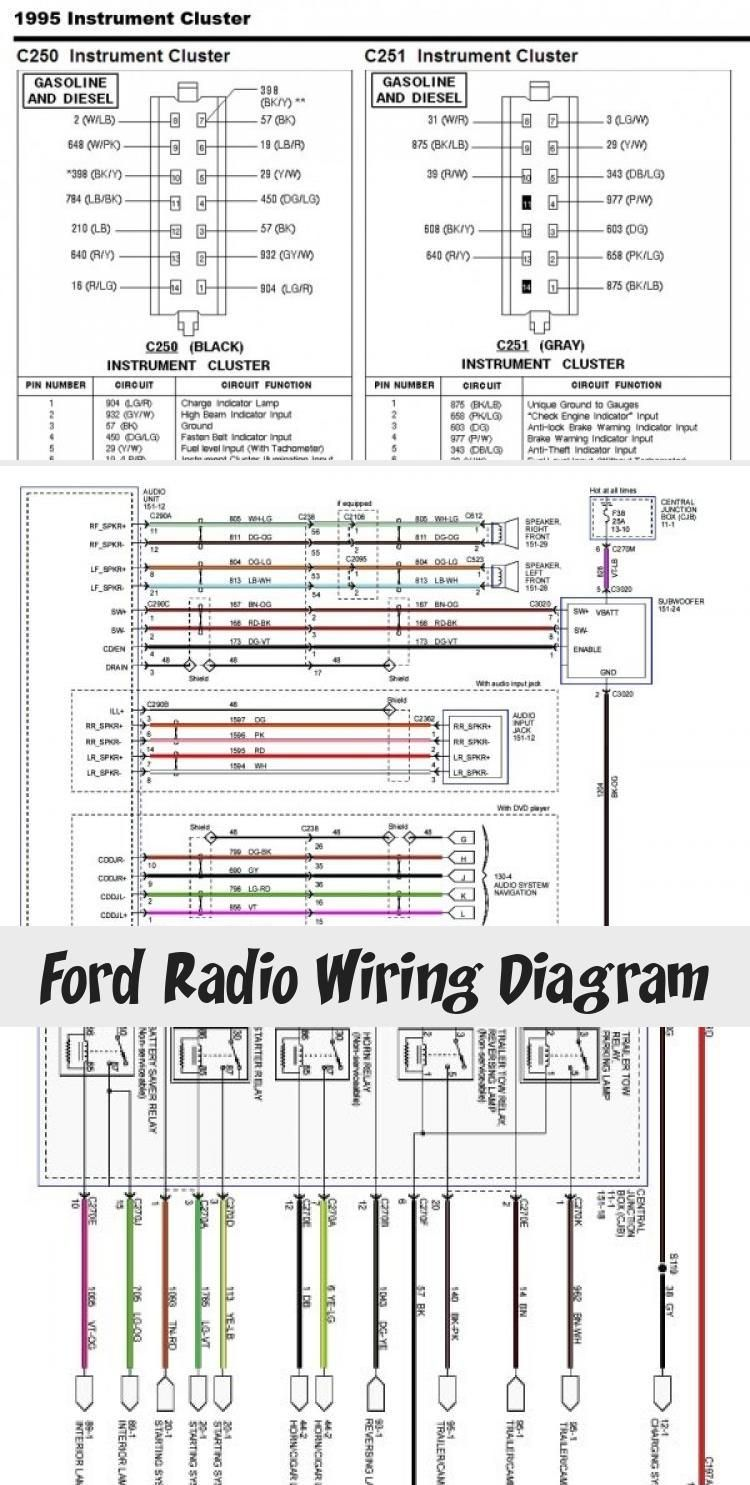 Ford Radio Wiring Diagram Fordrangeredge Fordranger2017 Fordranger2007 Fordrangersplash Fordrangergrey Ford Radio Ford Ranger