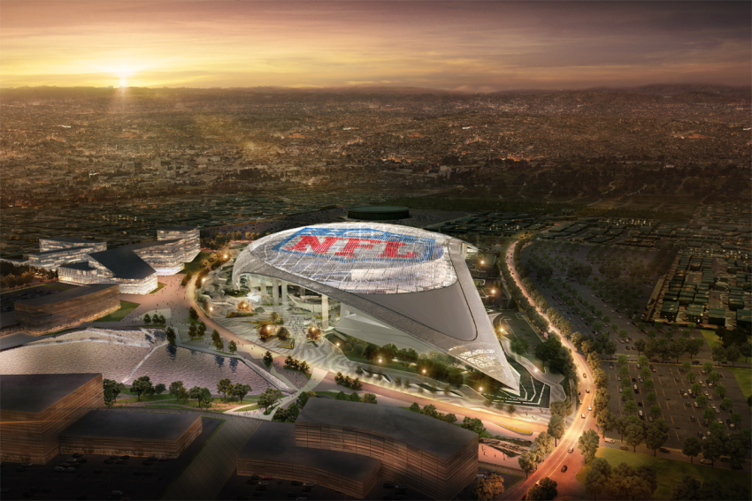 Los Angeles Rams Stadium Architect Magazine Hks Architects