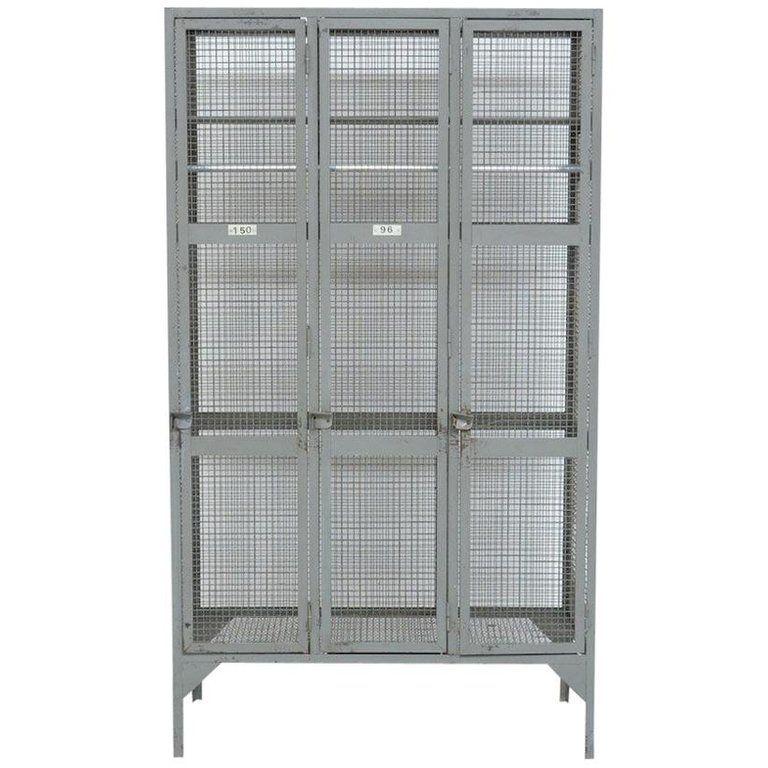 Industrial Transparent Metal Locker Cabinet Metal Lockers Metal Cabinet Wooden Armoire