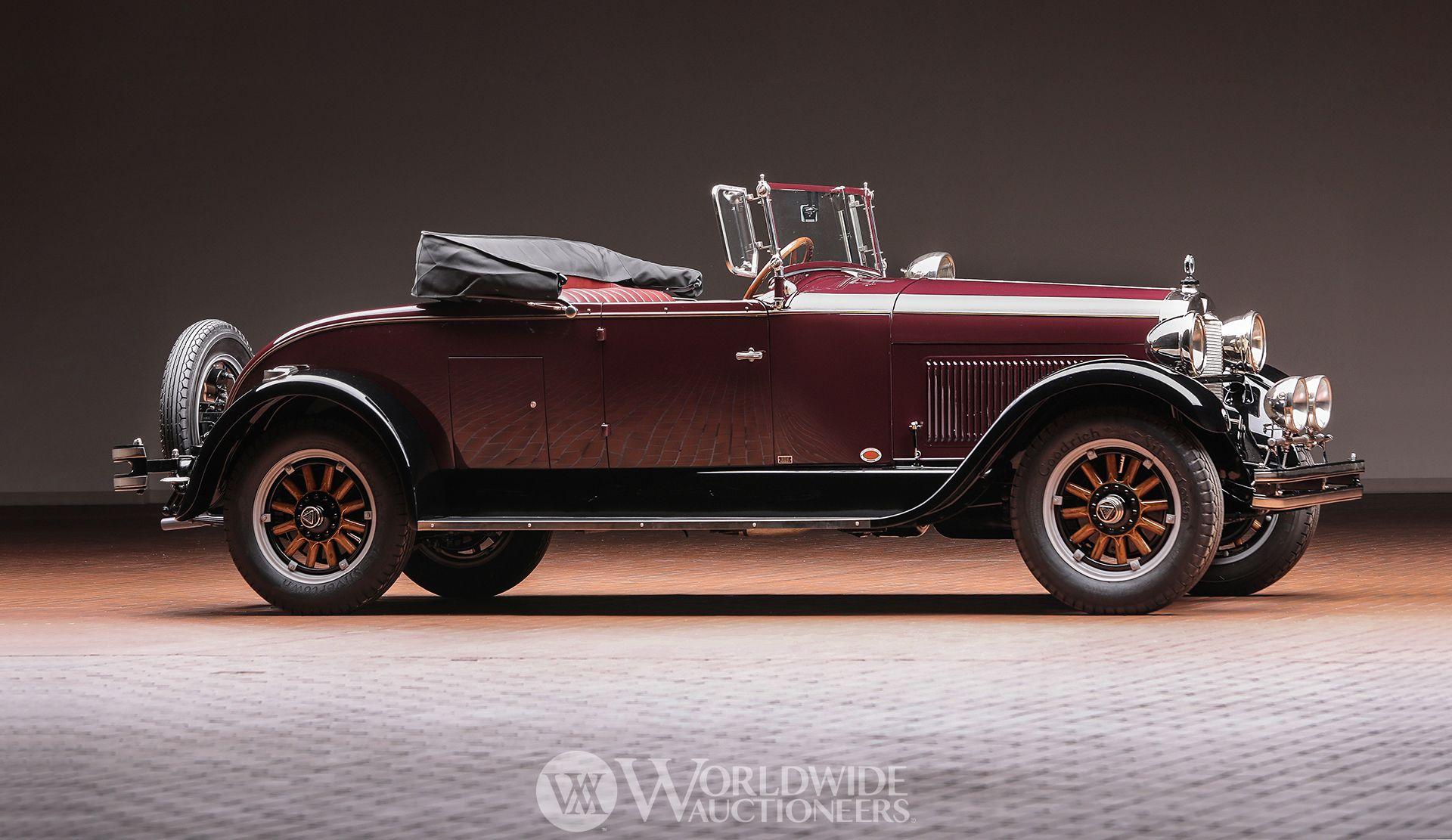 1927 Hudson Series O Roadster | Hostetler\'s Hudson Auto Museum ...