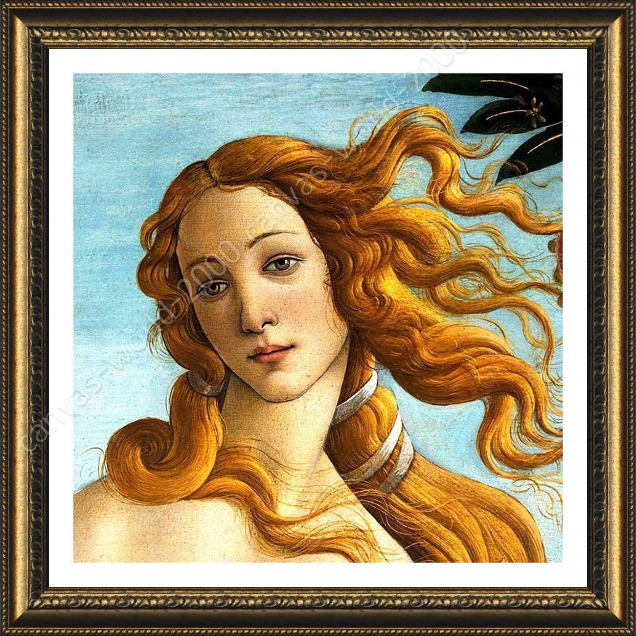 Cuadros De Venus Framed Poster Venus Sandro Botticelli Framed Art Giclee For