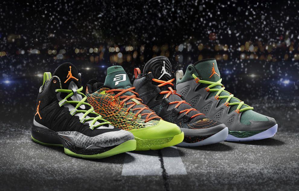 """bfa303438679fc Jordan Brand """"Flight Before Christmas"""" Pack (Detailed Pics   Release Info)"""